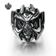Silver ring stainless steel Transformer Decepticon Megatron solid band heavy