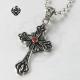 Emblem Cross Pendant