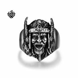 Silver Zeus ring Cool stainless steel band movie replica