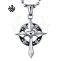 Ring Cross Pendant
