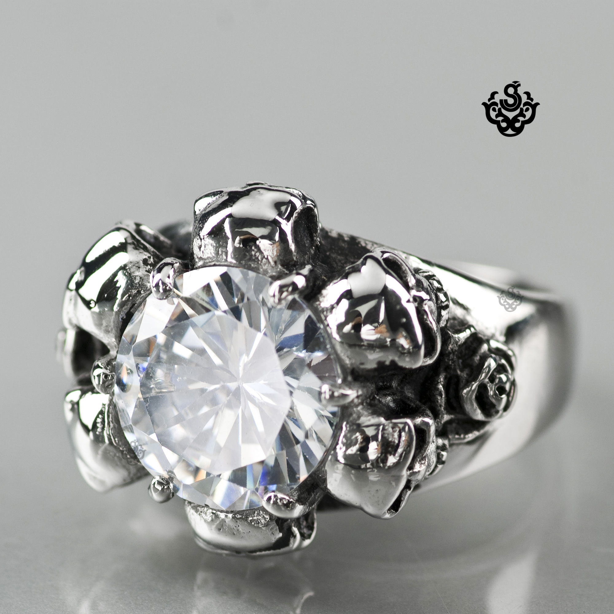 diamond spicyice iced sterling out rings ring silver championship bling mens collections simulated