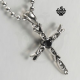 Slim Cross Pendant