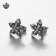 Sharp solid star earrings stainless steel stud quality made jewellery