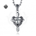Light of Angel Cross Pendant