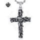 Rose Cross Pendant